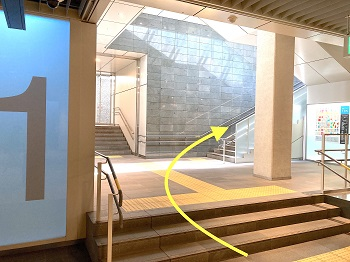 札幌駅からのアクセス3
