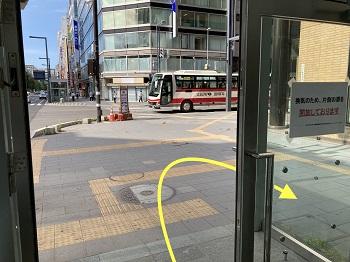大通駅からのアクセス4