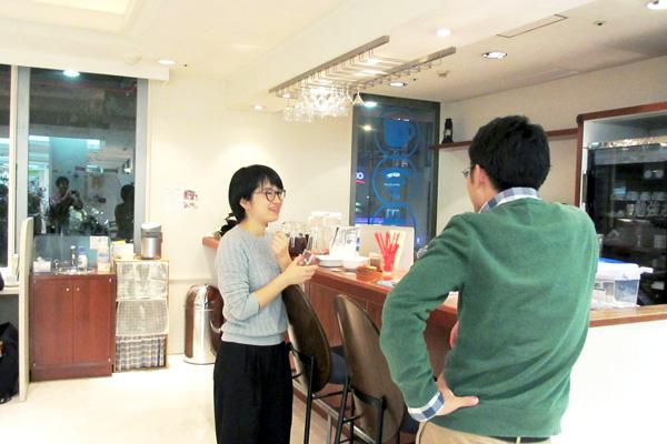 勉強場所なのに、キッチン!? 青山スタジオの魅力