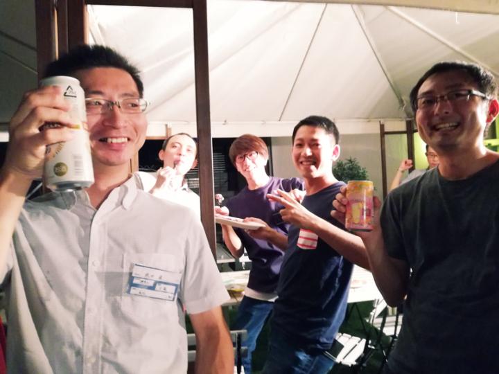勉強カフェ横浜関内スタジオ5th Anniversary BBQ Party