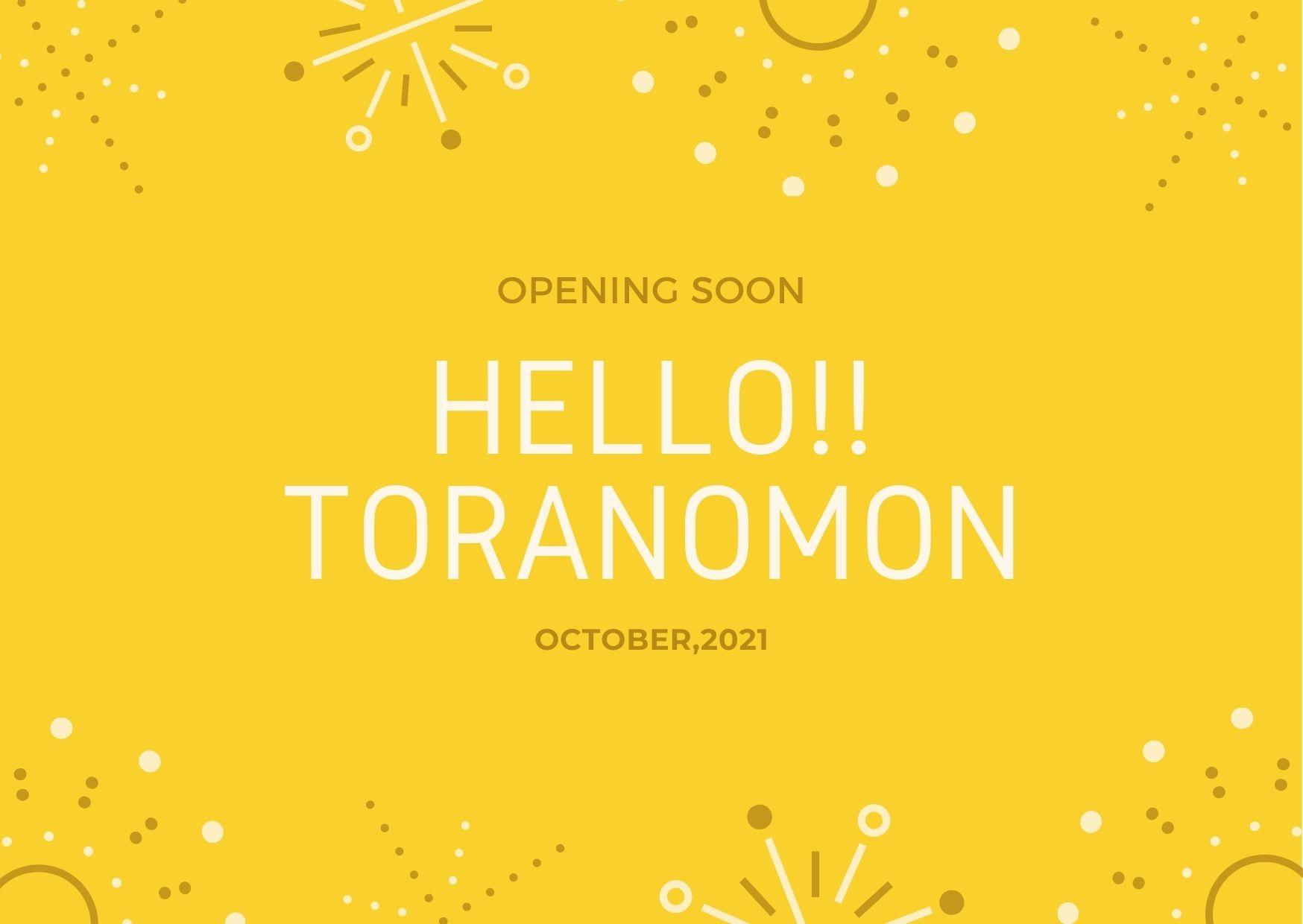 【新規OPEN】10月、虎ノ門スタジオがオープンします!(予告)